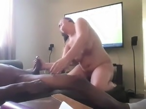 Sexy Brunette Takes A Big Black Cock In Every Hole