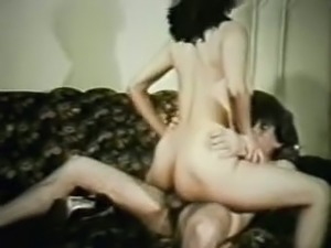 Big black guy fucks voracious blondie in the extremely hairy pussy