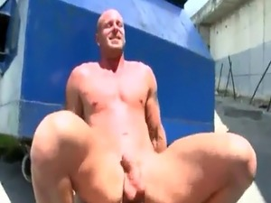 Naked male modal in outdoor gay xxx Hot public gay sex