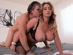 The guy came and fucked a married woman with big tits