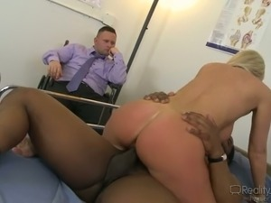 Cuckold Riding Whore Wife