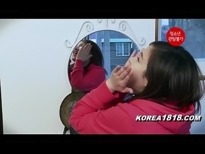 Korean Porn Hot Korean Teen is HORNY