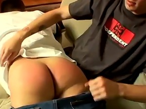 Stories about boys spanking each other gay first time Raven Gets A Red