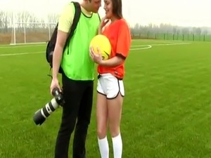 Two filipino teens Dutch football player nailed by photographer
