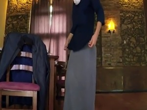 Arab egypt hd and sex Hungry Woman Gets Food and Fuck