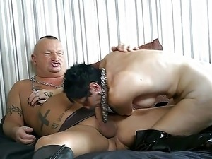 My Dirty PVC Milf Cum Farts My Jizz in Boots