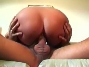 Sensational cock riding session of a hot and bootylicious babe