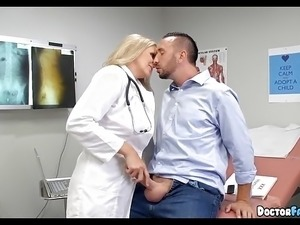 Ultimate Blonde Doctor MILF