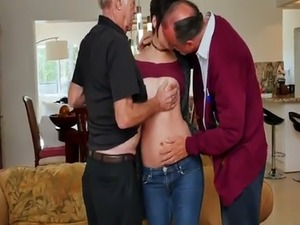 Old man fuck anal More 200 years of man rod for this luxurious brunett