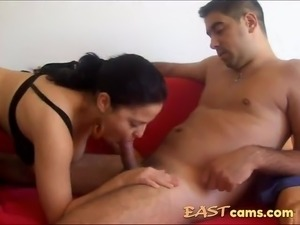Arab girl fucked on the couch