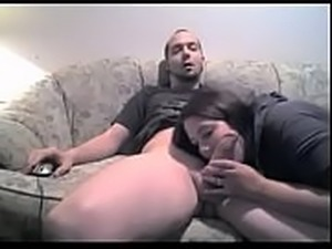 Dude gets a blowjob