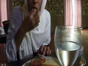 Dubai arabic dance Hungry Woman Gets Food and Fuck
