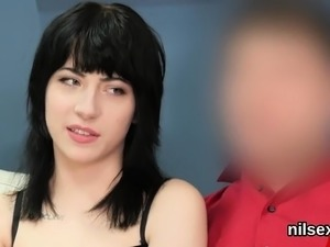 Horny cutie was brought in butthole madhouse for harsh treat