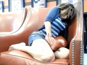 Crazy orgasms in Starbucks