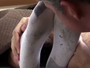 Boys feet on face gay Tommy Gets Worshiped In His Sleep