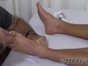 Campus boots gay fetish first time Tommy Gets Worshiped In His Sleep