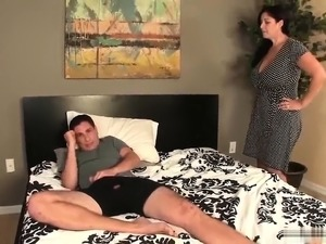 My Step Mom give me Blowjob