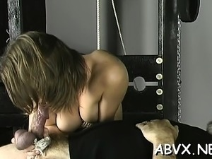 Big tits hotties bizarre bondage dilettante porn play