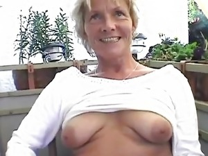 Balcony mature shows it all