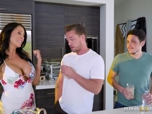 Reagan Foxx is ok with cheating on her husband with another man