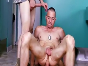 Mature men having gay sex with straight Good Anal Training