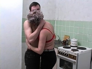 Russian couple doggystyle