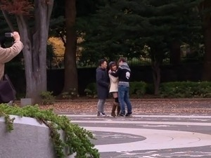 Public fucking is what makes the pure Japanese beauty horny