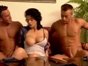 German brunette with nice tits wants to be fucked well