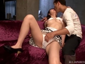 horny japanese babe in panties gets nailed in hardcore action