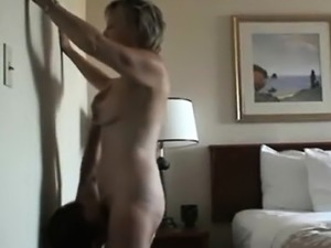 Webcam Show With Mature Blonde Housewife