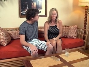 Let Big Boobs Stepmom Help You My Young Stepson