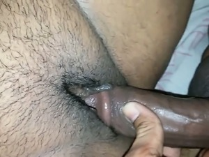 Mature aunt nailed in her hairy fat pussy missionary style