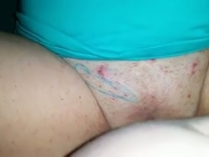 Fucking my chubby wife in a missionary position in amateur clip