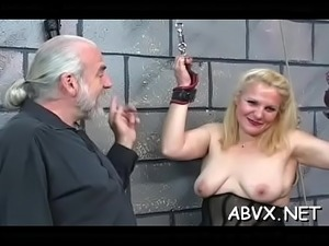 Intense slavery with mature