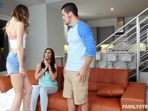 Sinful and cock hungry Jillian Janson gets poked by cheating dude