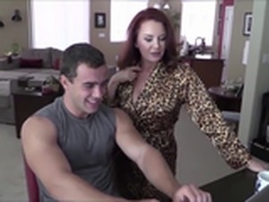 Busty Cougar Fucked By a Teen - Watch Part2 On MilfHomeTv.com