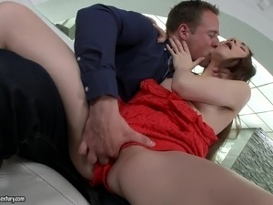 Scrumptious Stacy Snake Gets Assfucked By A Kinky Guy