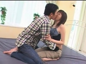 Stacked Japanese milf has a fiery snatch yearning for cock