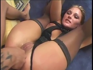 Butthole of quite flexible bitch Venus gets brutally pile driven