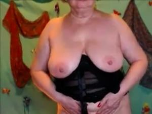 Amateur Granny Jerk Off Grandpas Cock