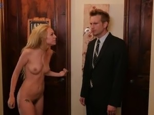 Extremely wild talkative blond head Lyra Law is eager to be analfucked