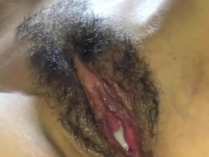 Real amateur creamy female orgasm