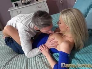 Dane Jones Big tits blonde Nathaly Cherie and Lutro fuck lik
