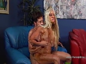 Blonde MILF Fucks Step Son