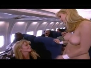 Vintage Ginger Lynn Sex On An Airplane