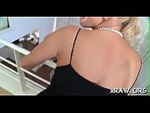 Blondie gets the biggest black cock to smash her petite pussy