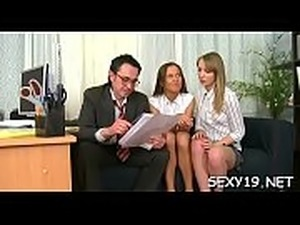 Sweet darling is offering her cum-hole for teacher&#039_s delight