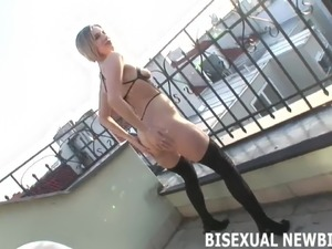 Can you handle your first bisexual threeway
