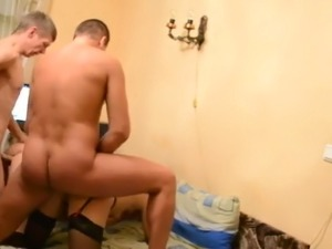 Russian muzhiks exchanged wives for anal swing