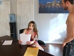 Sexy beautiful shemale Eva Paradis spreads legs to be analfucked mish